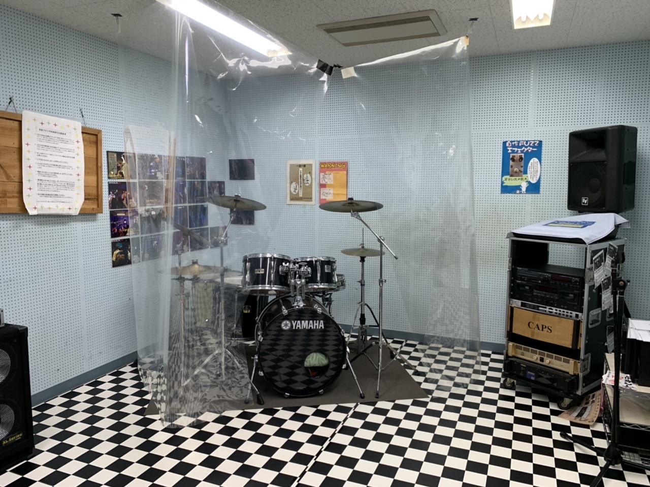 音楽スタジオの写真です