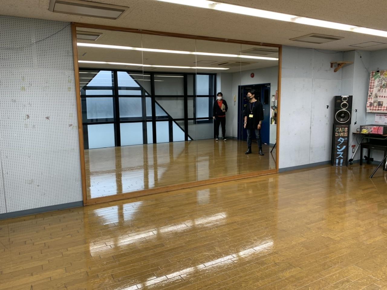 ダンススタジオの写真です