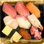鮪翔万の寿司1100円