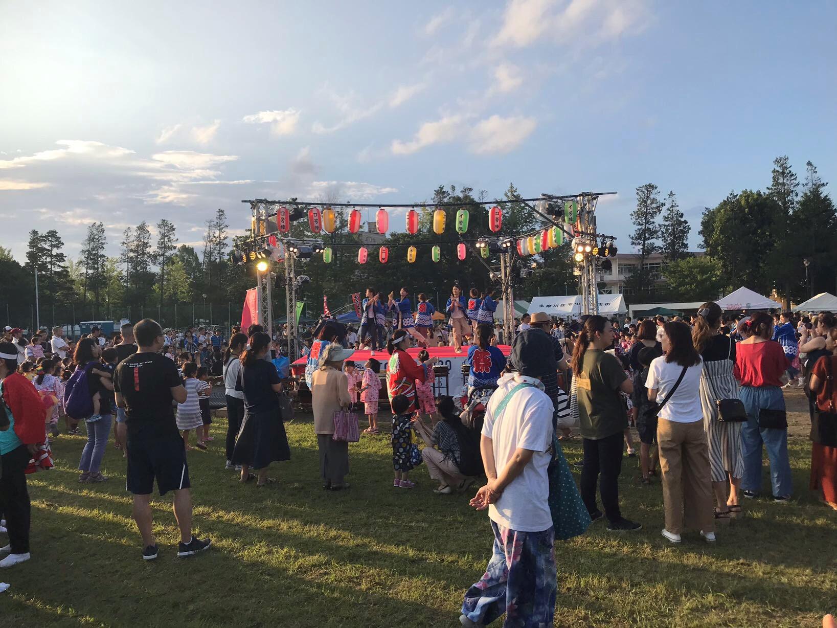 多摩川団地祭り