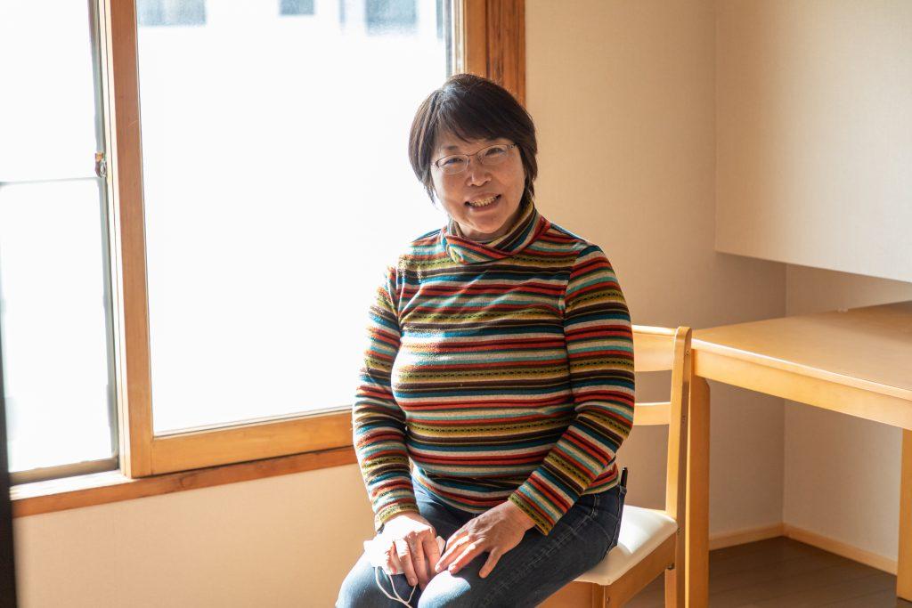 しばさき彩ステーション副代表の大木智恵子さん。