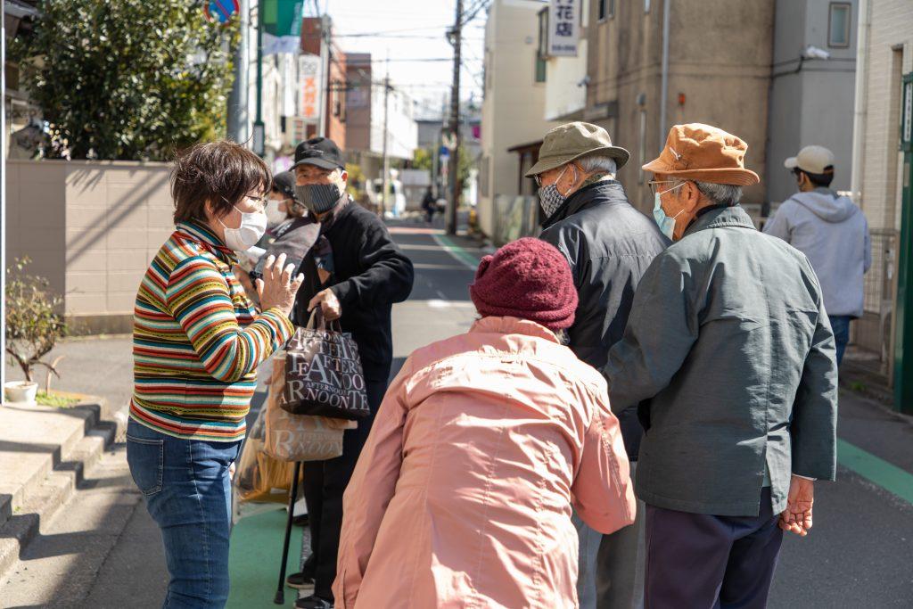 しばさき彩ステーションしばさき彩ステーションに多くの人たちが集う